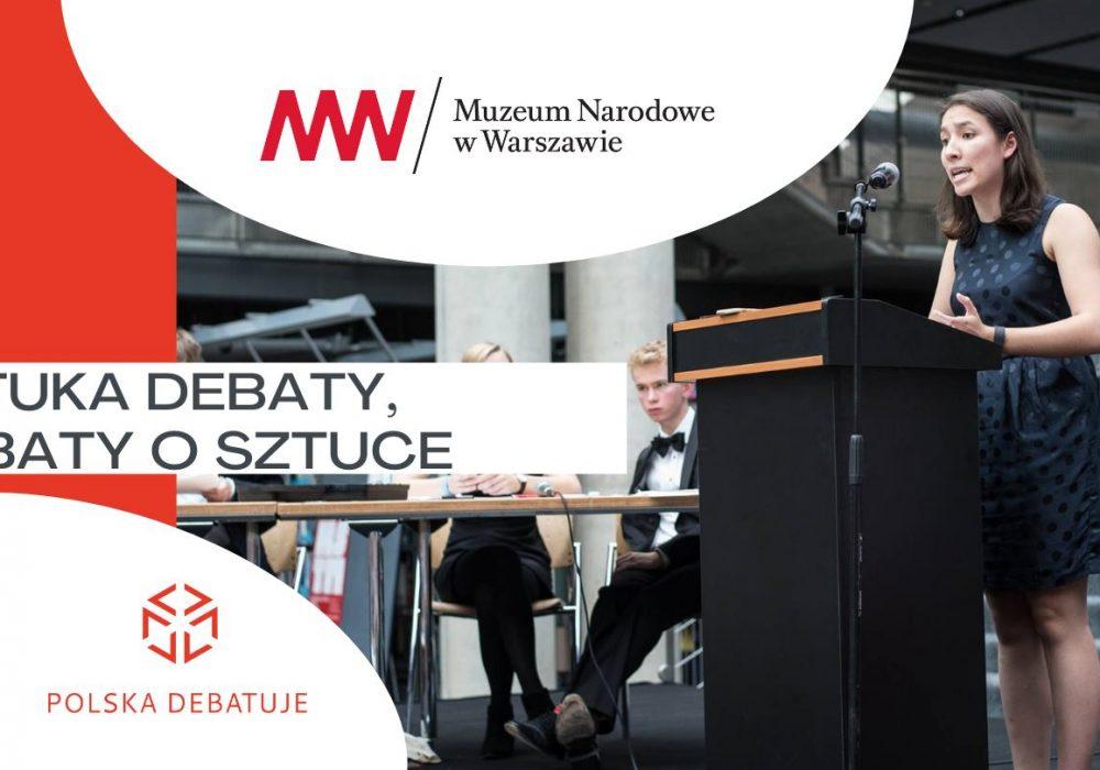 Sztuka Debaty, Debaty o Sztuce – rejestracja trwa!