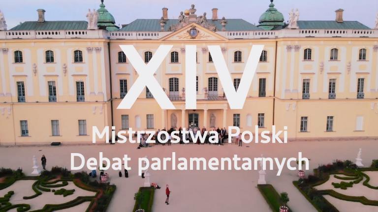 XIV Mistrzostwa Polski Debat Parlamentarnych