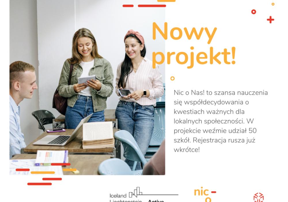 Rusza projekt Nic o Nas!
